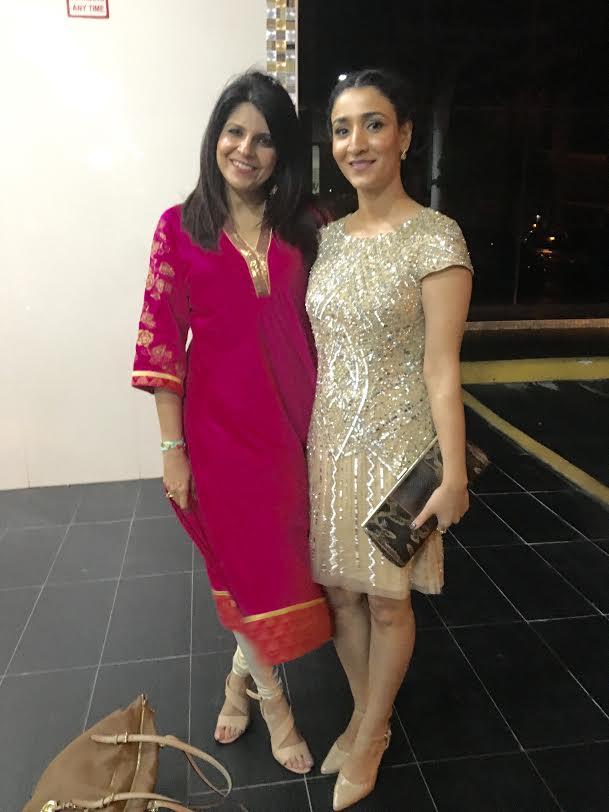 With Sheetal Rawal, founder, Apsara Skin Care