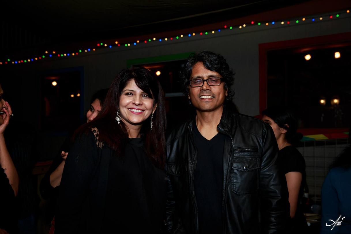 With the national film award winner, Nagesh Kukunoor at the Indie Meme Screening
