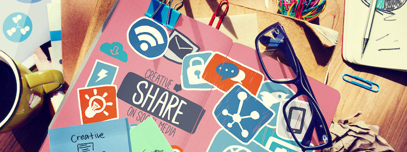 Creative Share Social Media Social Network Internet Online Conce